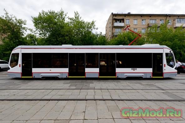 ГЛОНАСС-трамвай проходит испытания в Москве