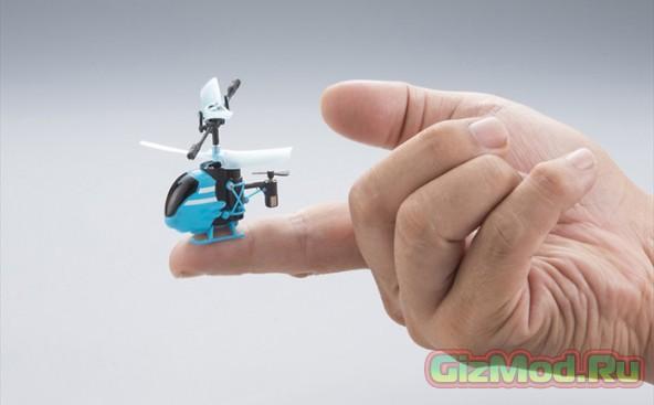 Pico-Falcon - самый маленький радиоуправляемый вертолет