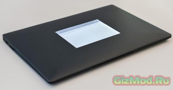 Вспомогательный дисплей E Ink в ноутбуке Intel