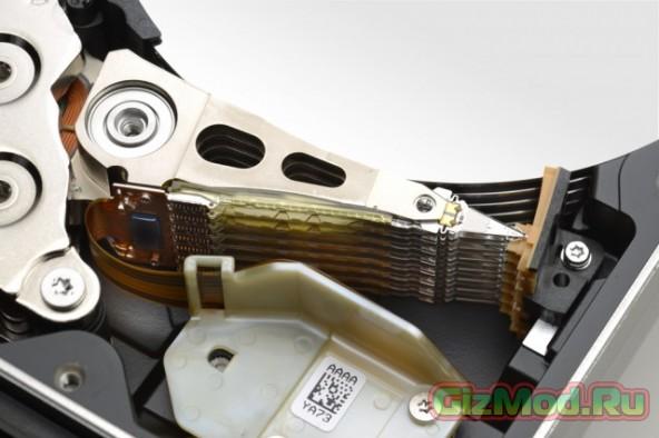 Western Digital - новый жесткий диск с гелием на 10 Тб