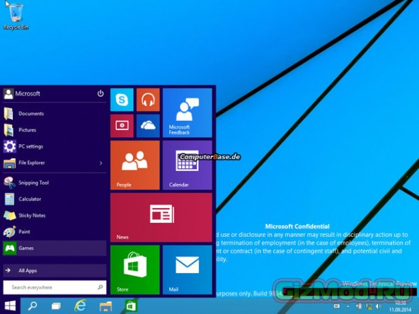 Множество рабочих столов в Windows 9