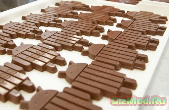 Шоколадный Android покоряет рынок