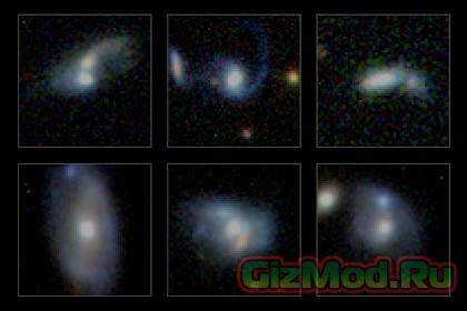 Андромеда поглотит Млечный путь