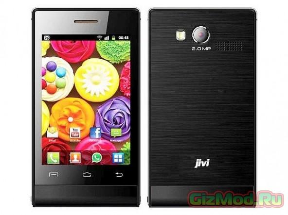 Jivi JSP 20 - копеечный Android-смартфон