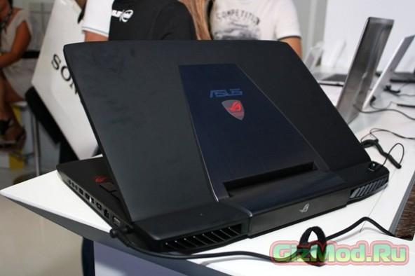 Видеокарта GTX 980M в ноутбуке ASUS ROG G751