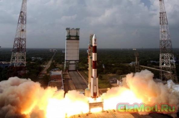 Индия вывела зонд на орбиту Марса