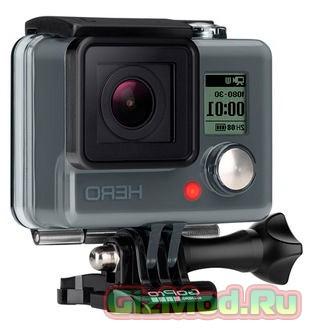 Экшен камеры GoPro Hero 4 с 4K и сенсорным дисплеем