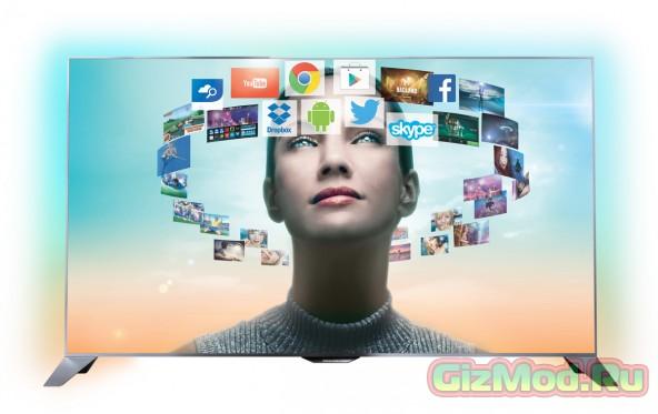 Philips выпустила в продажу Android-телевизоры