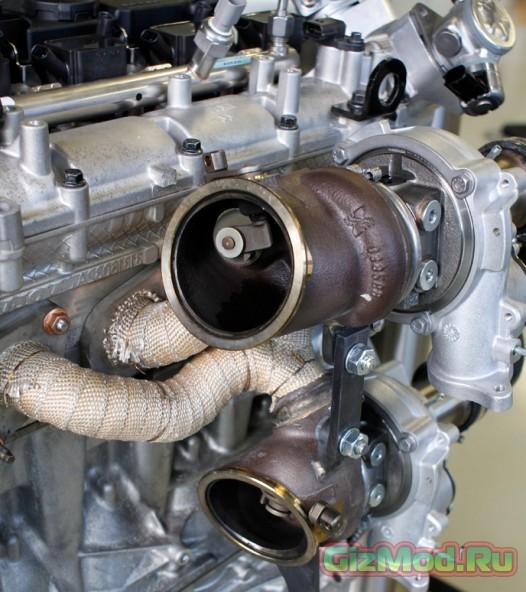 450 лошадок в новом 2-литровом двигателе Volvo
