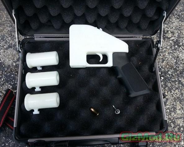 Gost Gunner: печать огнестрельного оружия