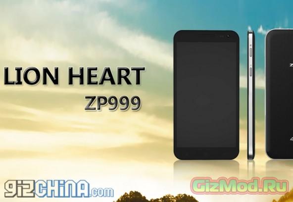 Zopo ZP999: флагман, сапфировое стекло, Full HD дисплей