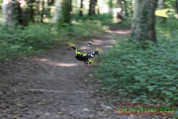 Гонки дронов в стиле Звездных войн