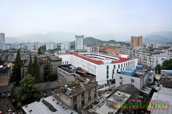 Бег по крышам школы разрешен