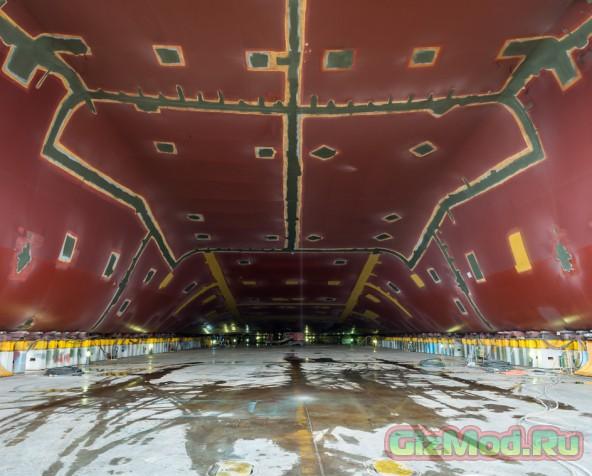 Фоторепортаж со строительной площадки контейнеровозов