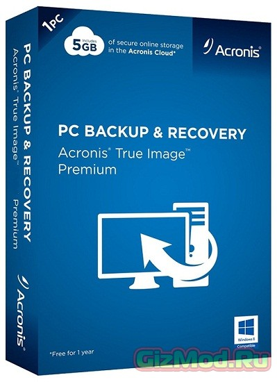 Acronis True Image Home 2015 18.0 Build 6055 - бэкап данных