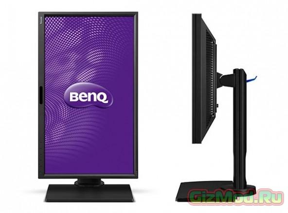 """24"""" монитор с разрешением WQHD от BenQ"""