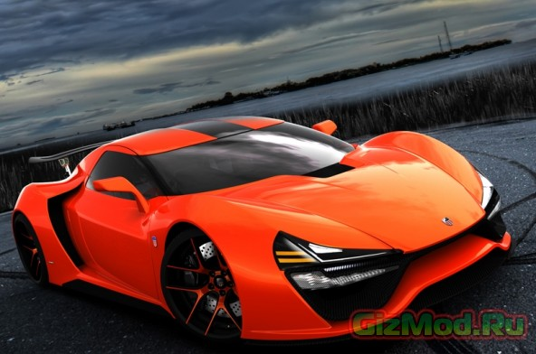 Trion обещает прототип гипперкара Nemesis в 2015-ом