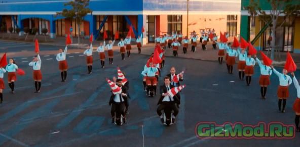 Новый клип от OK Go с использованием новинок техники
