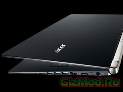 Acer установила 4K-дисплей в ноутбуке V Nitro Black Edition