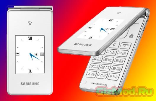 Раскладушка на базе Android от Samsung