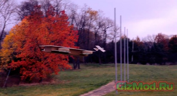 Летающий авианосец из комиксов