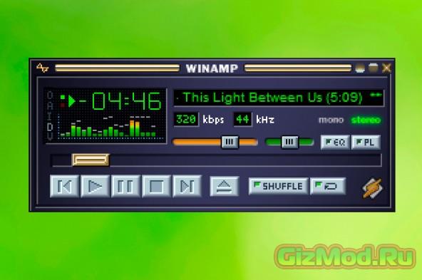 Вторая жизнь Winamp в сети