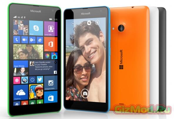 Представлен первый смартфон Microsoft Lumia