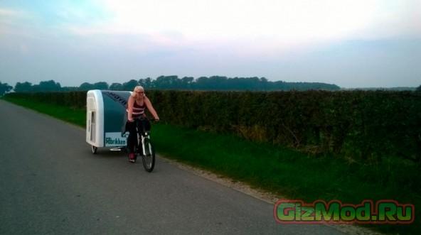 Легкий фургончик для велотуризма