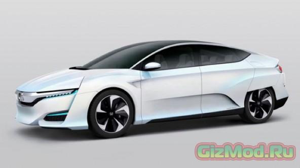 Новая модель авто от Honda на водородном топливе