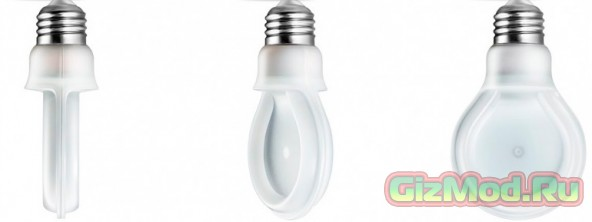 SlimStyle — плоская светодиодная лампа от Philips