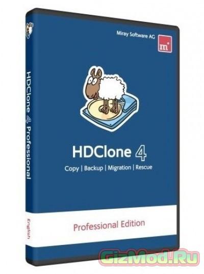 HDClone Free 5.1.5 - простое клонирование HDD