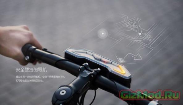 Умный велосипед Baidu DuBike подскажет дорогу
