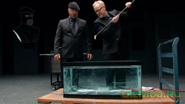 Разрушители легенд: испытания стекла Gorilla Glass