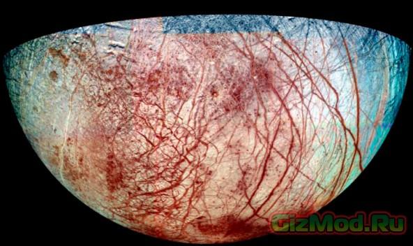Фоторепортаж из космоса: в фокусе спутник Юпитера