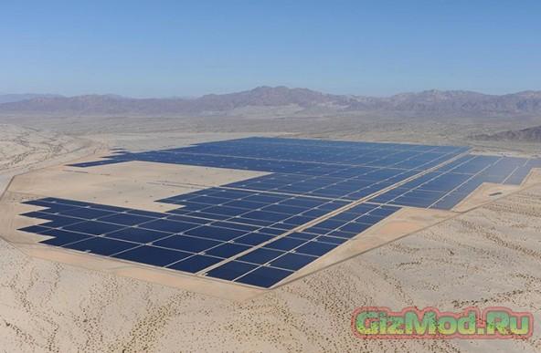 Самая крупная электростанция на солнечных батареях