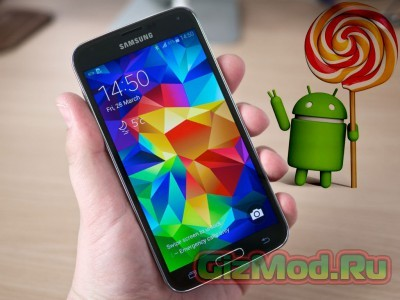 Galaxy S5 обновили до Android 5.0 Lollipop