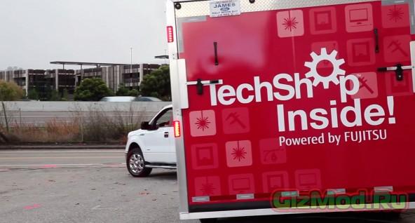 Уроки труда в трейлере TechShop