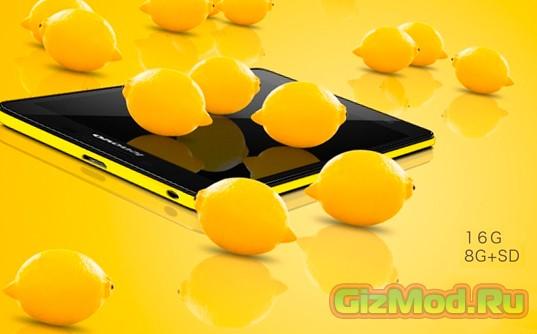 Новый бюджетный смартфон от Lenovo