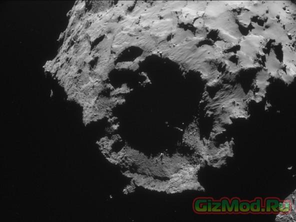 Общий план кометы Чурюмова-Герасименко глазами Rosetta