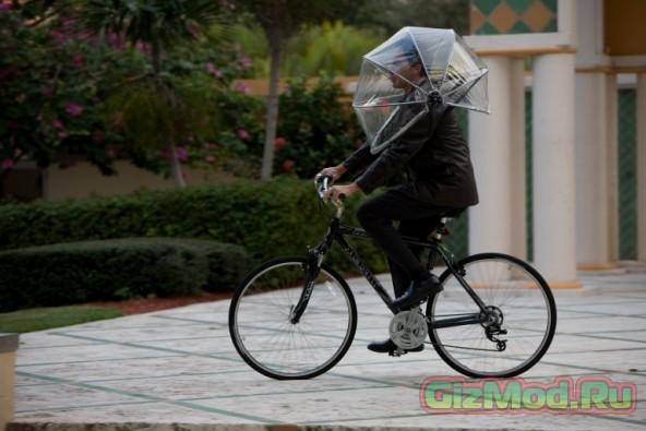 Новый способ защиты от дождя — зонт Numbrella