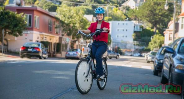 Электрическое колесо Omni для велосипеда