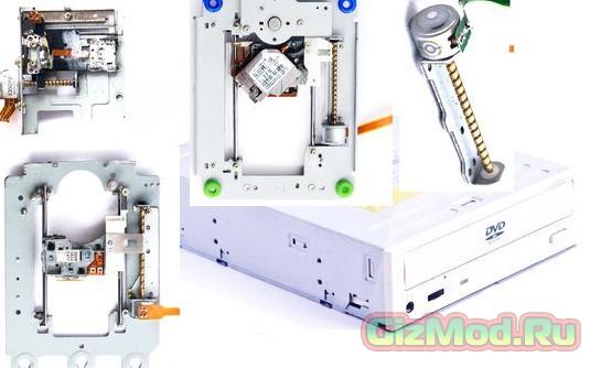 3D-принтер из старых запчастей компьютера