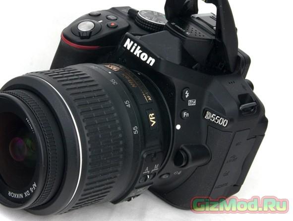 Новый зеркальный фотоаппарат от Nikon