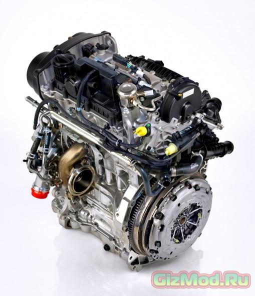 Трехцилиндровый двигатель от Volvo