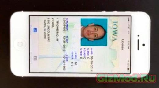 Вместо водительских прав — смартфон