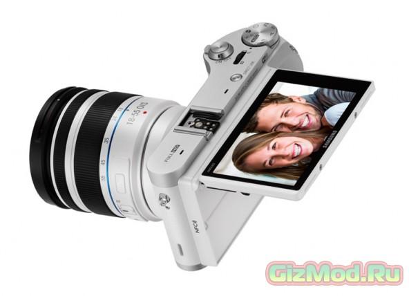 Новая модель беззеркального фотоаппарата от Samsung