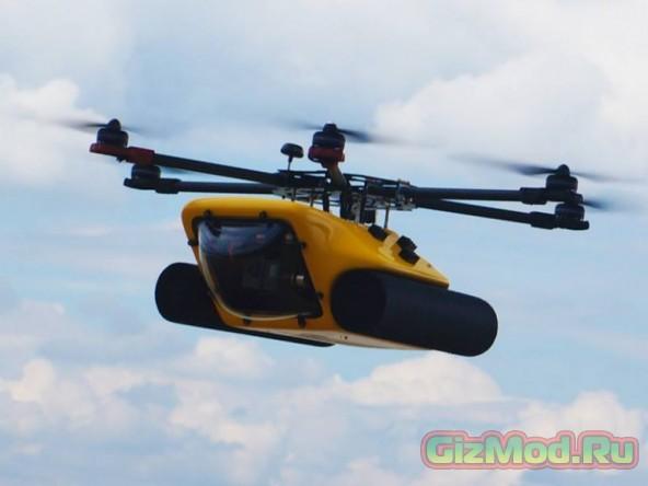 HexH2O — дрон-амфибия