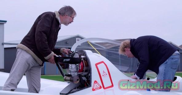 Первые испытания гибридного самолета