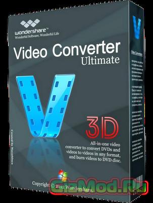Wondershare Video Converter 8.0.4.0 - универсальный видеоредактор