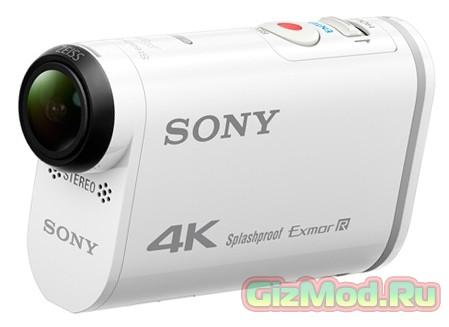 Экшн-камера от Sony с поддержкой 4К-видео